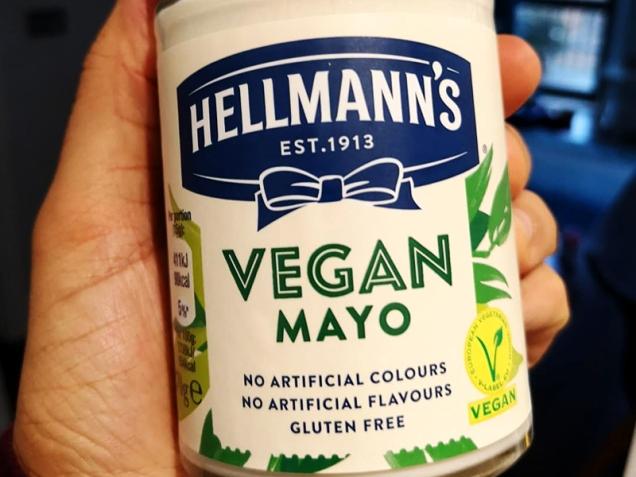 hellmann's vegan mayonnaise