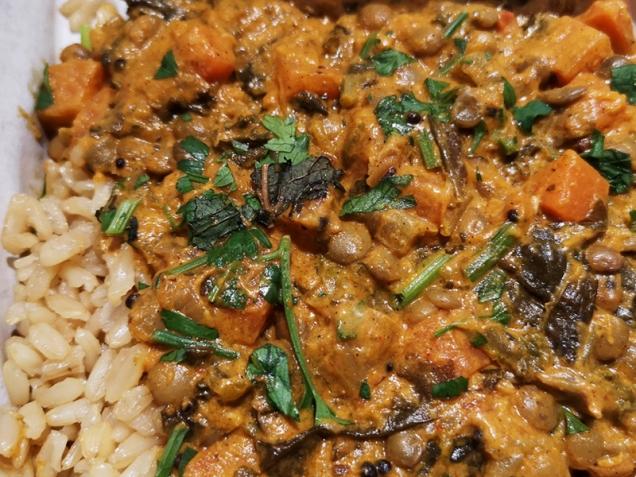 leon restaurants lentil masala